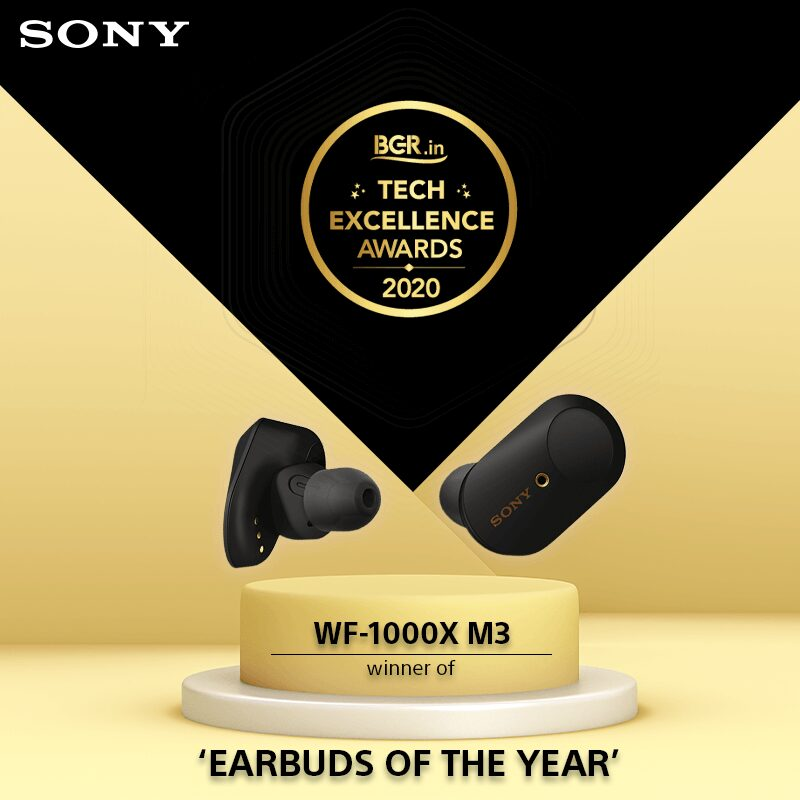 Sony Earbuds has won 'Earbuds of The Year' Awards 2020