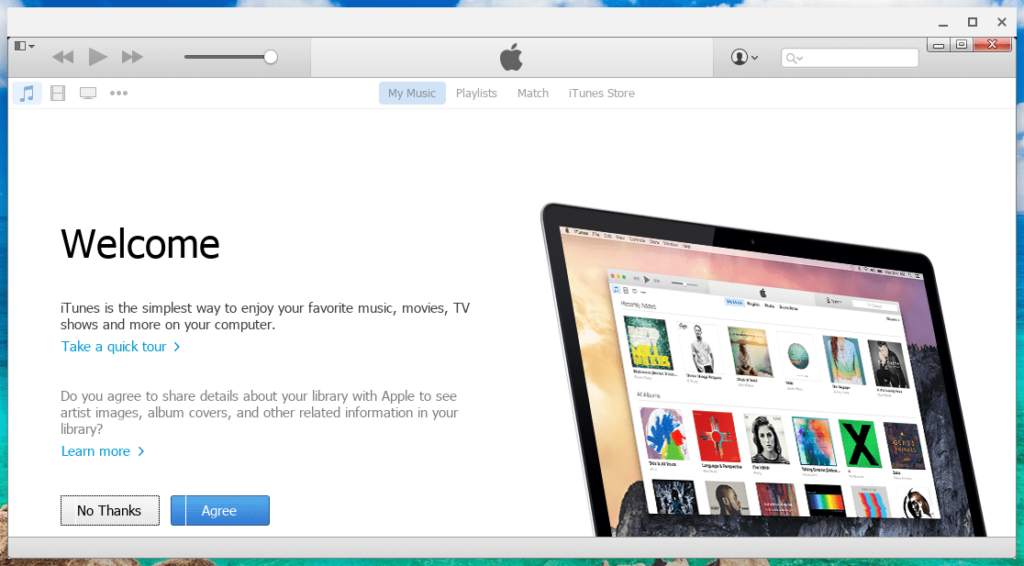Welcome to iTunes on Chromebook