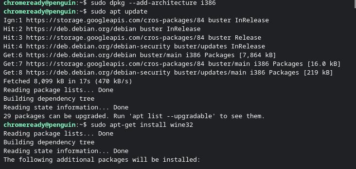 enable 32 bit arch
