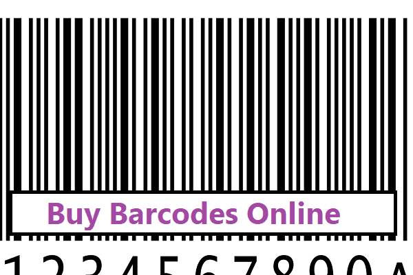 Buy Barcodes Online-For Retail Products
