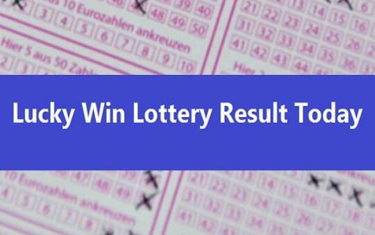 Lucky Win Lottery Result Today